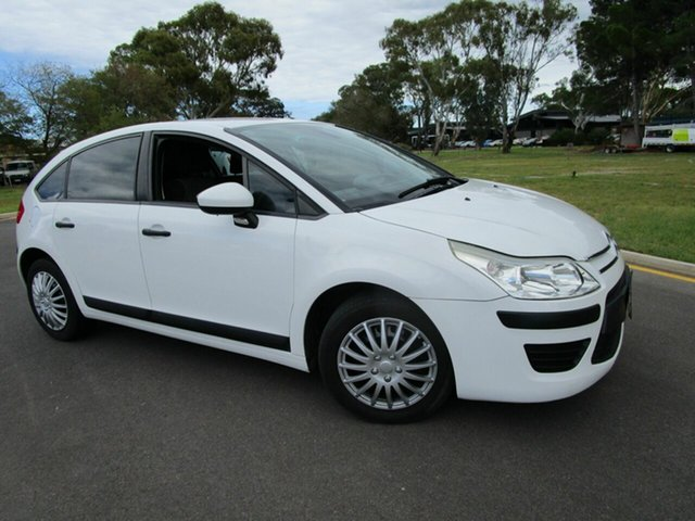 Used Citroen C4 MY09 Exclusive Glenelg, 2010 Citroen C4 MY09 Exclusive White 4 Speed Automatic Hatchback