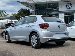 2020 Volkswagen Polo AW MY20 70TSI Trendline Silver 5 Speed Manual Hatchback