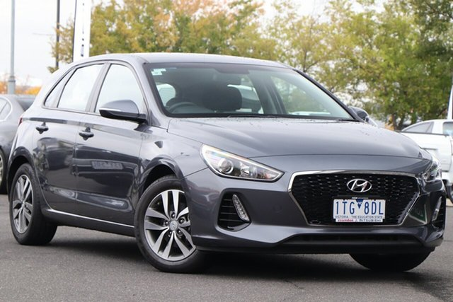 Used Hyundai i30 PD MY18 Active Essendon North, 2018 Hyundai i30 PD MY18 Active Grey 6 Speed Sports Automatic Hatchback