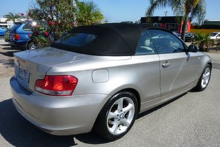 2009 BMW 1 Series E88 120i Pewter 6 Speed Automatic Convertible