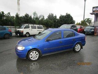 2005 Holden Astra TS CD Classic Blue 4 Speed Automatic Sedan