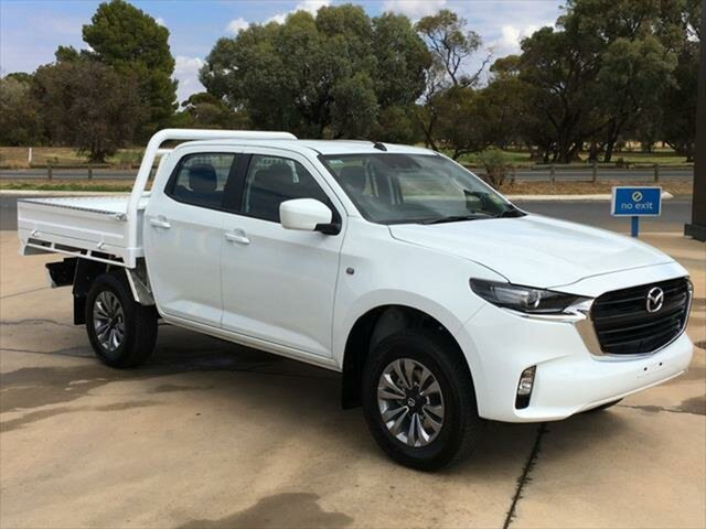 New Mazda BT-50 TFS40J XT Berri, 2020 Mazda BT-50 TFS40J XT Ice White 6 Speed Sports Automatic Cab Chassis