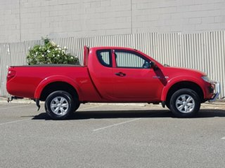 2014 Mitsubishi Triton MN MY15 GLX Club Cab Red 5 Speed Manual Cab Chassis