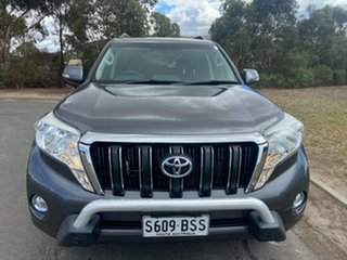 2017 Toyota Landcruiser Prado GDJ150R GXL Grey 6 Speed Sports Automatic Wagon.