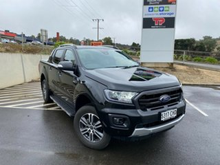 2020 Ford Ranger PX MKIII 2021.2 Wildtrak Shadow Black 10 Speed SMF Double Cab Pick Up.