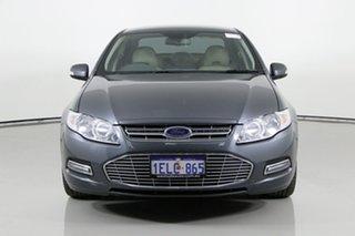 2013 Ford Falcon FG MK2 G6E (LPi) Grey 6 Speed Automatic Sedan.