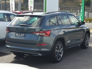 2020 Skoda Kodiaq NS MY21 132TSI DSG Sportline Grey 7 Speed Sports Automatic Dual Clutch Wagon