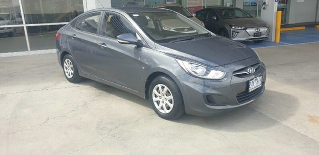 Used Hyundai Accent RB Active Melton, 2013 Hyundai Accent RB Active Grey 4 Speed Sports Automatic Sedan