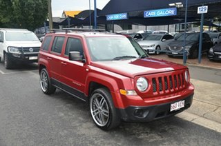 2014 Jeep Patriot MK MY14 Sport (4x2) Red 5 Speed Manual Wagon.