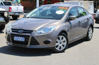 2011 Ford Focus LW Ambiente PwrShift Brown 6 Speed Sports Automatic Dual Clutch Sedan.