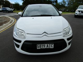 2010 Citroen C4 MY09 Exclusive White 4 Speed Automatic Hatchback.