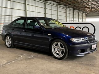 2004 BMW 3 Series E46 MY2004 318i Steptronic Sport Blue 5 Speed Sports Automatic Sedan.