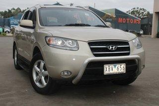 2008 Hyundai Santa Fe CM MY08 Upgrade SLX CRDi (4x4) Gold 5 Speed Automatic Wagon.