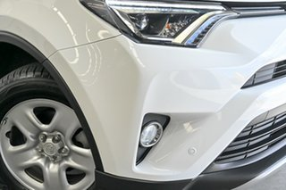 2017 Toyota RAV4 ZSA42R GX 2WD White 7 Speed Constant Variable Wagon.