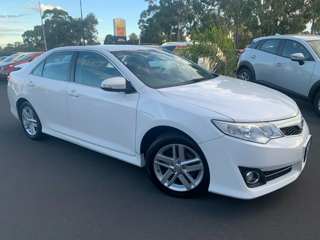 Used Toyota Camry ASV50R Atara R Bunbury, 2012 Toyota Camry ASV50R Atara R White 6 Speed Sports Automatic Sedan