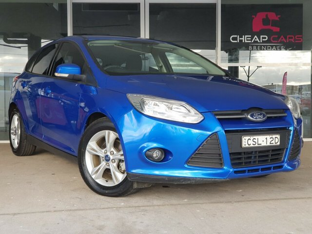 Used Ford Focus LW MkII Trend Brendale, 2014 Ford Focus LW MkII Trend Blue 5 Speed Manual Hatchback