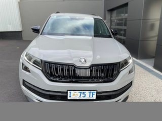 2019 Skoda Kodiaq NS MY19 132TSI DSG Sportline Grey 7 Speed Sports Automatic Dual Clutch Wagon.