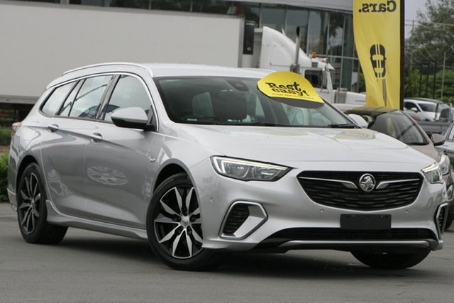 Used Holden Commodore ZB MY18 RS Sportwagon Aspley, 2018 Holden Commodore ZB MY18 RS Sportwagon Silver 9 Speed Sports Automatic Wagon