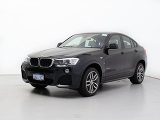 2015 BMW X4 F26 MY15 xDrive 20I Blue 8 Speed Automatic Coupe.