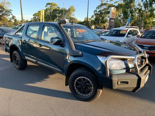 2016 Holden Colorado RG MY16 LS-X Crew Cab Blue 6 Speed Sports Automatic Utility.