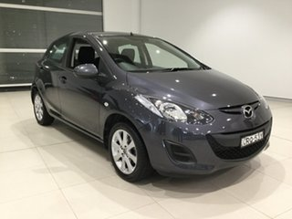 2013 Mazda 2 DE10Y2 MY14 Neo Sport Meteor Grey 4 Speed Automatic Hatchback.