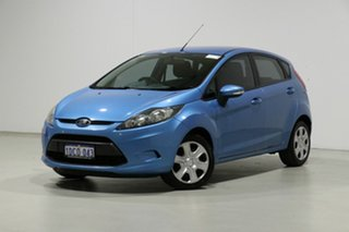 2009 Ford Fiesta WS CL Blue 5 Speed Manual Hatchback.