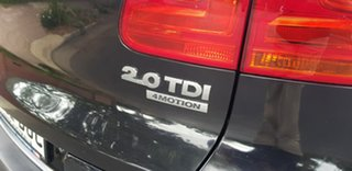 2011 Volkswagen Tiguan 5NC MY12 103 TDI Black 7 Speed Auto Direct Shift Wagon