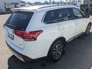 2018 Mitsubishi Outlander ZL MY19 LS AWD White 6 Speed Sports Automatic Wagon.