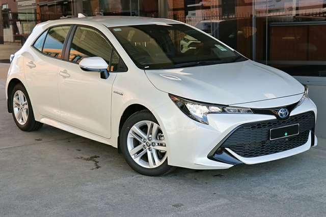Pre-Owned Toyota Corolla ZWE211R Ascent Sport E-CVT Hybrid Preston, 2020 Toyota Corolla ZWE211R Ascent Sport E-CVT Hybrid Crystal Pearl 10 Speed Constant Variable