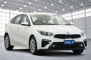 2019 Kia Cerato BD MY20 S White 6 Speed Sports Automatic Hatchback.