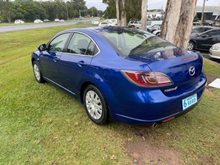 2008 Mazda 6 GH1051 Classic Blue 5 Speed Sports Automatic Sedan
