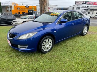 2008 Mazda 6 GH1051 Classic Blue 5 Speed Sports Automatic Sedan.