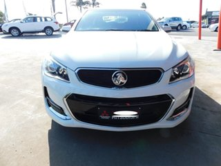 2017 Holden Commodore VF II MY17 SV6 Sportwagon White 6 Speed Sports Automatic Wagon