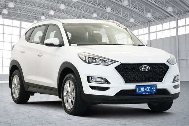Used Hyundai Tucson TL3 MY19 Active X 2WD Victoria Park, 2019 Hyundai Tucson TL3 MY19 Active X 2WD White 6 Speed Automatic Wagon