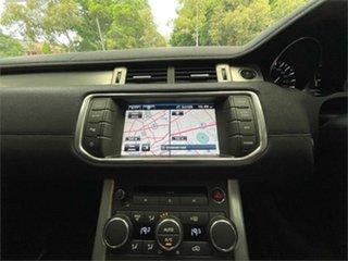 2012 Land Rover Range Rover Evoque L538 Prestige Black Sports Automatic Wagon