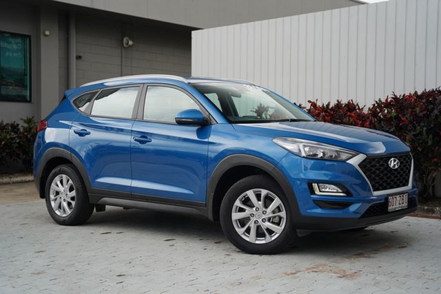 Used Hyundai Tucson TL3 MY19 Active X 2WD Cairns, 2019 Hyundai Tucson TL3 MY19 Active X 2WD Blue 6 Speed Automatic Wagon