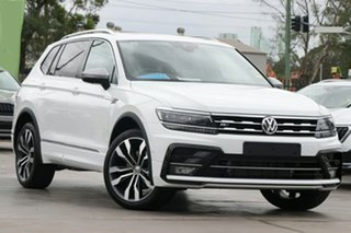 2020 Volkswagen Tiguan 5N MY20 140TDI Highline DSG 4MOTION Allspace Pure White 7 Speed.