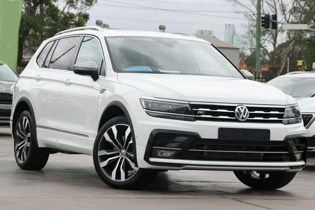 New Volkswagen Tiguan 5N MY20 140TDI Highline DSG 4MOTION Allspace Epsom, 2020 Volkswagen Tiguan 5N MY20 140TDI Highline DSG 4MOTION Allspace Pure White 7 Speed