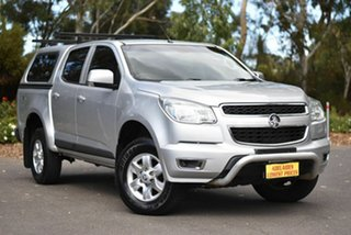 2014 Holden Colorado RG MY14 LT Crew Cab Silver 6 Speed Sports Automatic Utility.