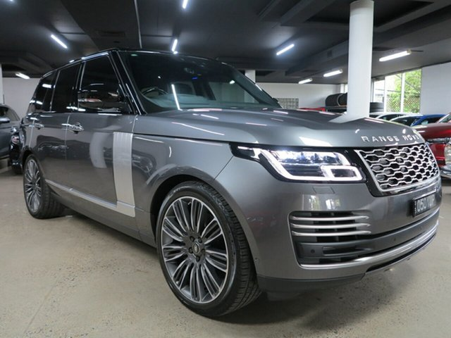 Used Land Rover Range Rover L405 19MY Autobiography Albion, 2019 Land Rover Range Rover L405 19MY Autobiography Corris Grey 8 Speed Sports Automatic Wagon