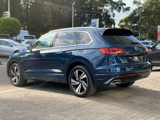 2021 Volkswagen Touareg CR MY21 210TDI Tiptronic 4MOTION R-Line Blue 8 Speed Sports Automatic Wagon