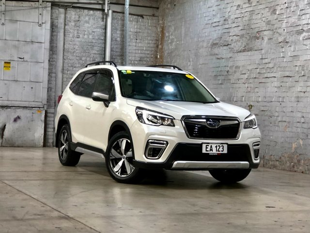Used Subaru Forester S5 MY19 2.5i-S CVT AWD Mile End South, 2018 Subaru Forester S5 MY19 2.5i-S CVT AWD White 7 Speed Constant Variable Wagon