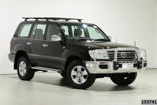 2006 Toyota Landcruiser HDJ100R VX (4x4) Black 5 Speed Automatic Wagon.