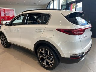 2020 Kia Sportage QL MY21 GT-Line AWD Snow White Pearl 6 Speed Sports Automatic Wagon