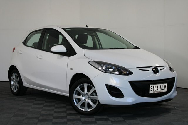 Used Mazda 2 DE10Y1 MY10 Maxx Wayville, 2011 Mazda 2 DE10Y1 MY10 Maxx White 4 Speed Automatic Hatchback