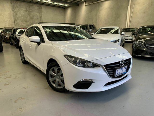 Used Mazda 3 BM5278 Neo SKYACTIV-Drive Coburg North, 2014 Mazda 3 BM5278 Neo SKYACTIV-Drive White 6 Speed Sports Automatic Sedan