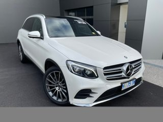2017 Mercedes-Benz GLC-Class X253 807MY GLC250 d 9G-Tronic 4MATIC White 9 Speed Sports Automatic.