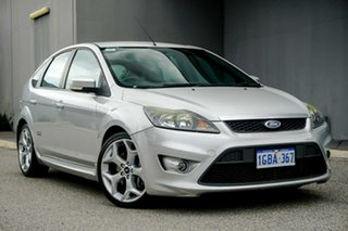 2008 Ford Focus LV XR5 Turbo Silver 6 Speed Manual Hatchback.
