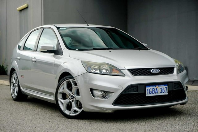 Used Ford Focus LV XR5 Turbo Osborne Park, 2008 Ford Focus LV XR5 Turbo Silver 6 Speed Manual Hatchback