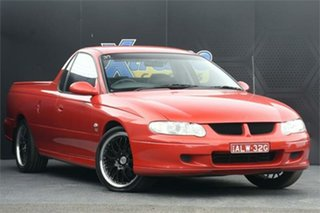2000 Holden Ute VU S Red 4 Speed Automatic Utility.